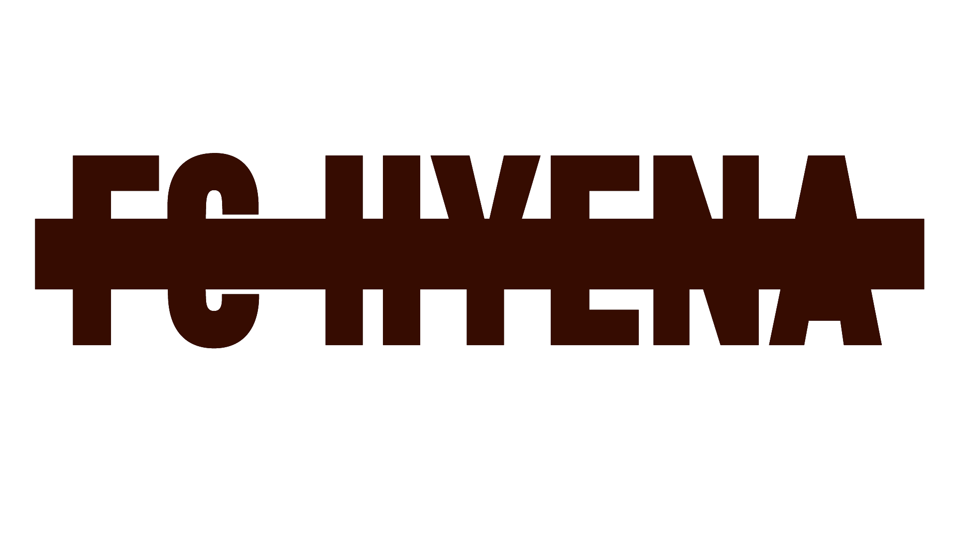 Hyena-logo-bruin